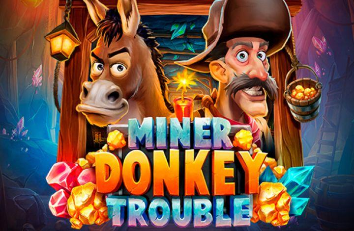แนะนำเกมสล็อตออนไลน์ Miner Donkey Trouble